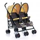 Прогулочная коляска-трость для двойни GEOBY SD209F