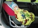 Покрывало детское в автокресло или коляску