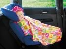 Покрывало детское в автокресло (для малыша от 1,5 до 3 лет) То да Сё